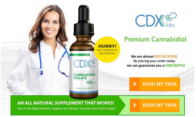 CDX Labs CBD Oil 4