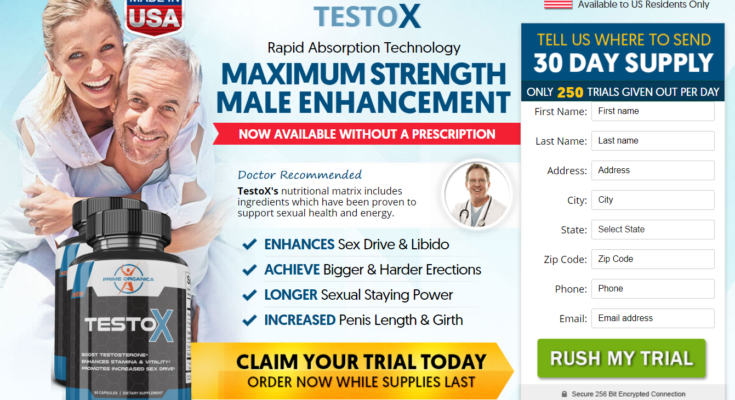 TestoX Male Enhancement 1