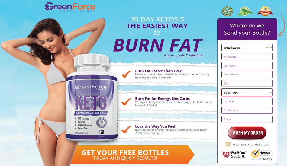 Green Force Keto 2