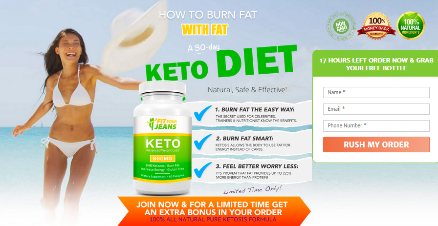 FIT YOUR JEANS Keto 2