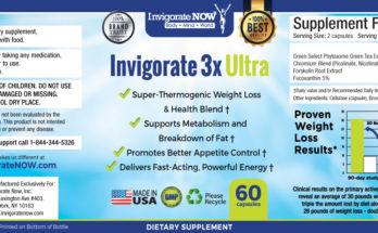 Invigorate 3X Ultra 1