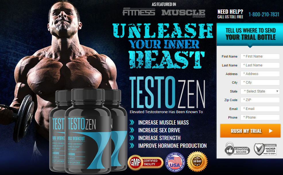 TestoZen Max Workout Buy
