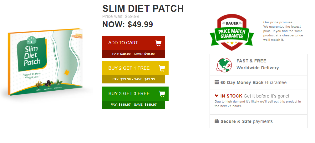 Quick Slim Detox Patch 1